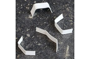 CLIPBAND TIES 40mm WHITE